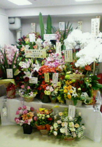 ラカージュのお花
